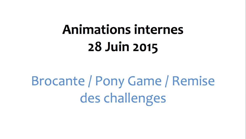 Animations internes – 28 Juin